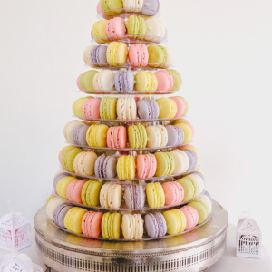 Celebration 9 tiered macaroon