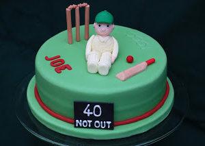 A Birthday Cake for the Cricket Season