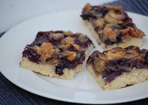 Random Recipes #8 – Dan Lepard's Blueberry Almond Bars