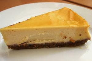 Nigella's Gleaming Maple Cheesecake