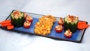 Random Recipes #9 – Thai Cucumber Cups