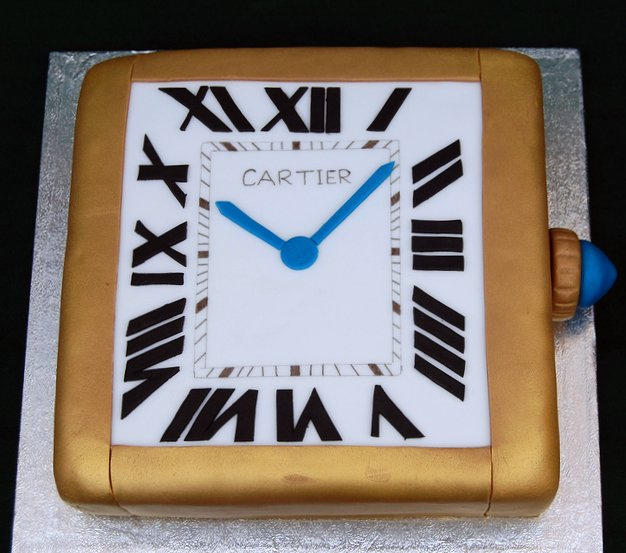 Cartier Watch Cake And Some Monster Fun Vanilla Frost Cakes