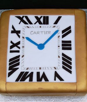 Cartier Watch Cake and Some Monster Fun