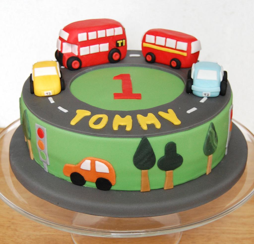 Birthday Cakes Buses