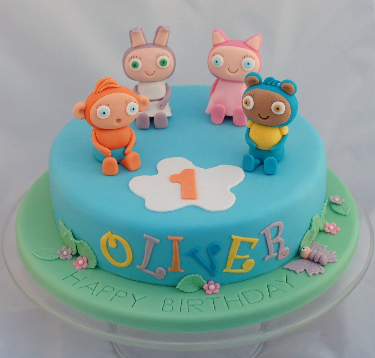 Groovy Waybuloo And Moshi Monsters Birthday Cakes Vanilla Frost Cakes Funny Birthday Cards Online Inifofree Goldxyz