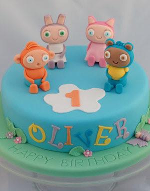 Waybuloo and Moshi Monsters – Birthday Cakes