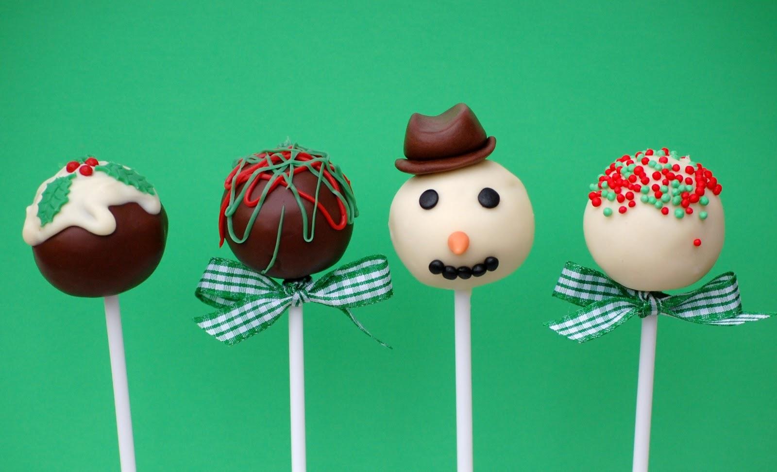 Christmas Cake Pop Ideas Pinterest