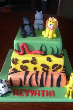 Jungle Cakes and a Fabulous Bag