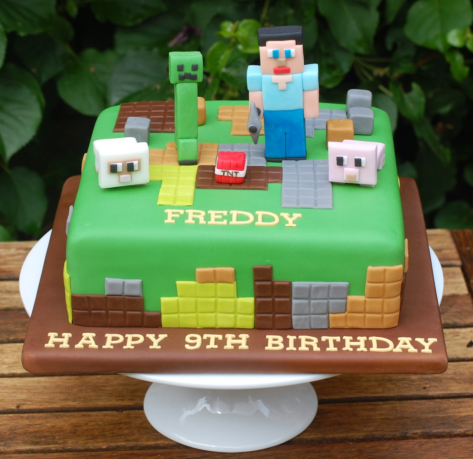 D Minecraft Birthday Cake Recipes