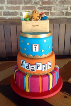 Bollywood First Birthday Cake