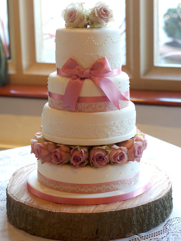 Celebration 4 tier wedding cake