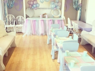 Cafe Partnerships set up for children's party
