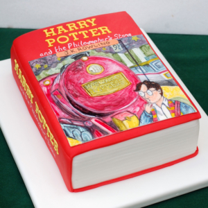 Celebration Harry Potter cake