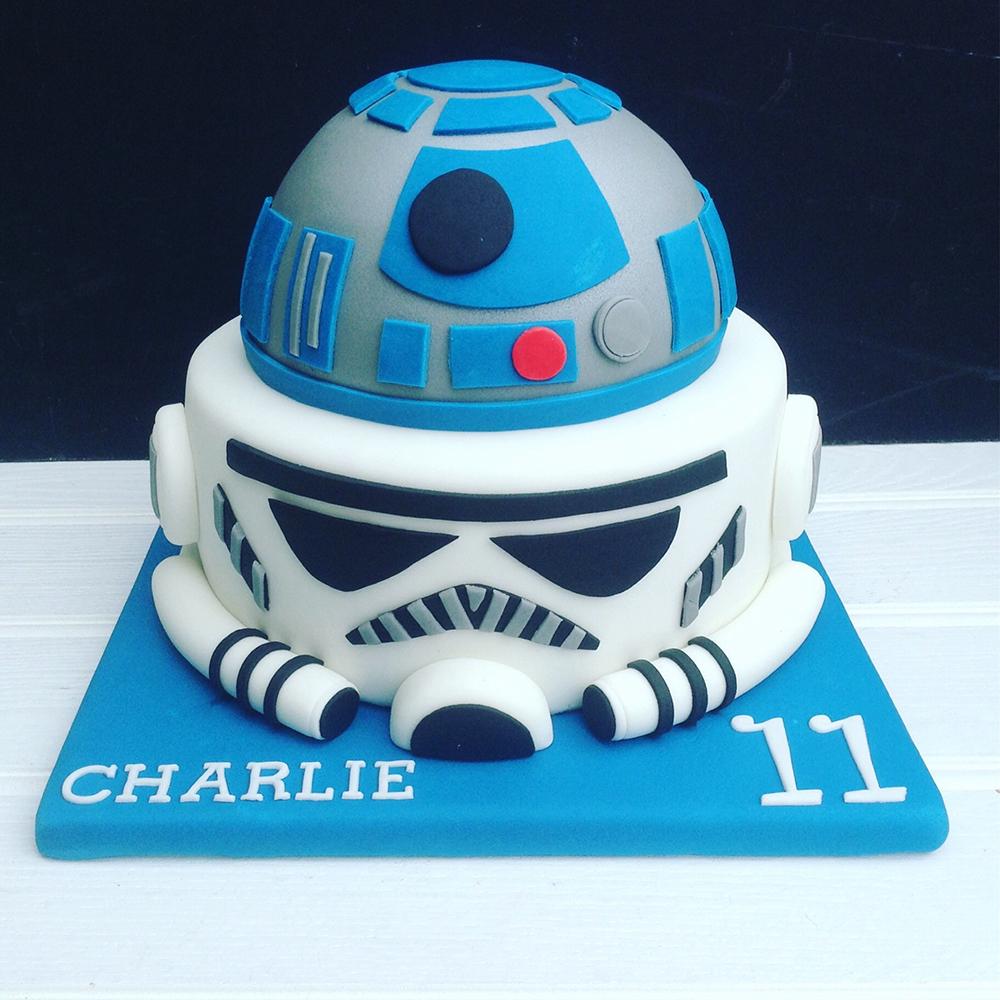 Celebration Star Wars cake