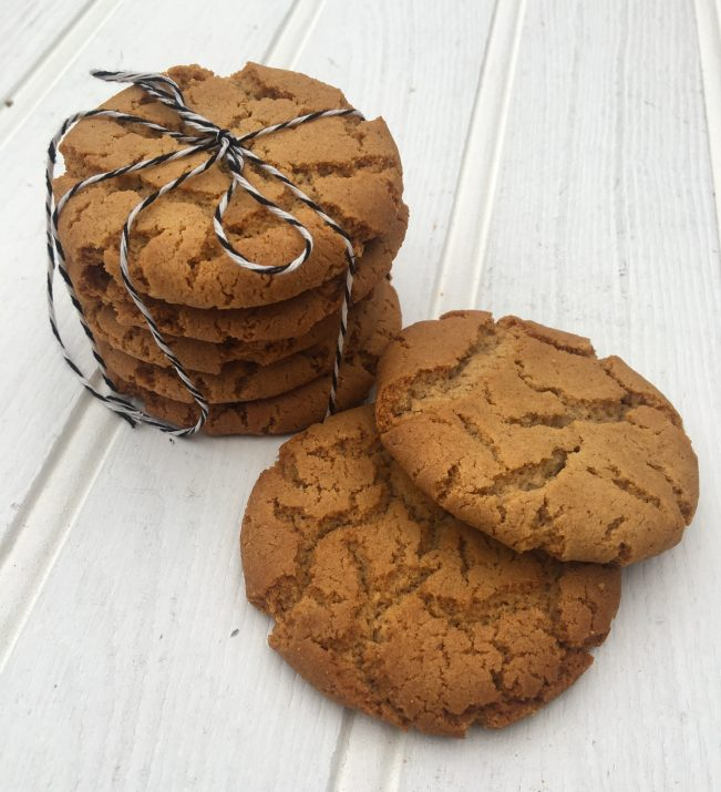 spiced ginger Cornish fairings for St Piran's Day
